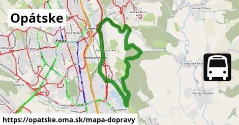 ikona Mapa dopravy mapa-dopravy  opatske
