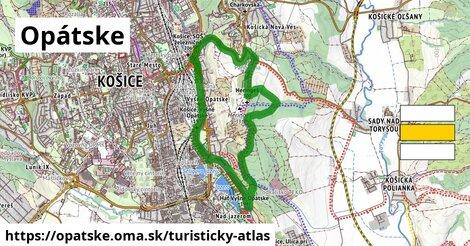 ikona Turistická mapa turisticky-atlas  opatske