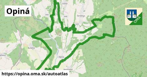ikona Mapa autoatlas  opina
