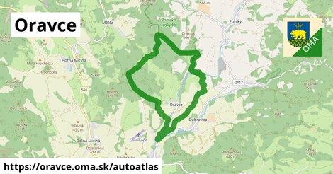 ikona Mapa autoatlas  oravce
