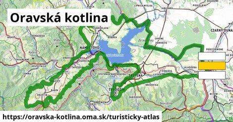 ikona Turistická mapa turisticky-atlas  oravska-kotlina