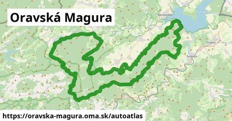 ikona Mapa autoatlas  oravska-magura