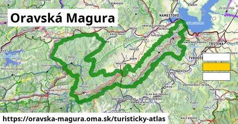 ikona Turistická mapa turisticky-atlas  oravska-magura