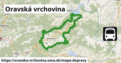 ikona Mapa dopravy mapa-dopravy  oravska-vrchovina