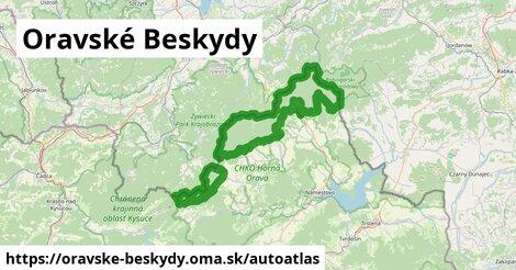 ikona Mapa autoatlas  oravske-beskydy