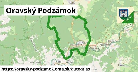 ikona Mapa autoatlas v oravsky-podzamok