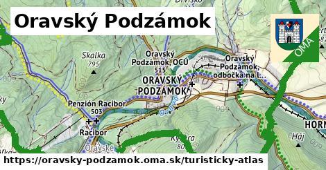 ikona Turistická mapa turisticky-atlas  oravsky-podzamok