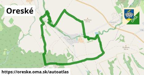 ikona Mapa autoatlas  oreske