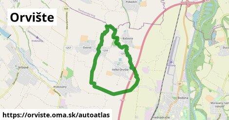 ikona Mapa autoatlas  orviste