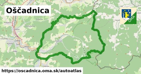 ikona Mapa autoatlas  oscadnica