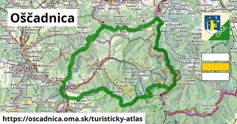 ikona Oščadnica: 44km trás turisticky-atlas  oscadnica