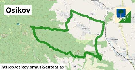 ikona Mapa autoatlas  osikov
