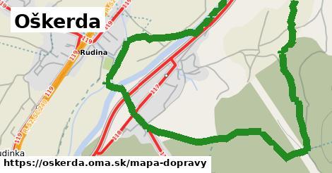 ikona Oškerda: 32km trás mapa-dopravy  oskerda
