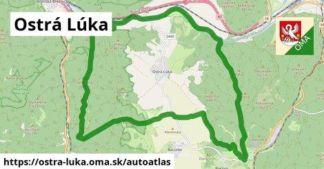 ikona Mapa autoatlas  ostra-luka