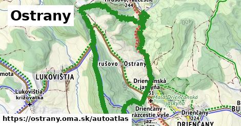 ikona Mapa autoatlas  ostrany