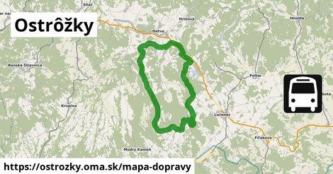ikona Mapa dopravy mapa-dopravy  ostrozky