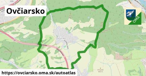 ikona Mapa autoatlas  ovciarsko