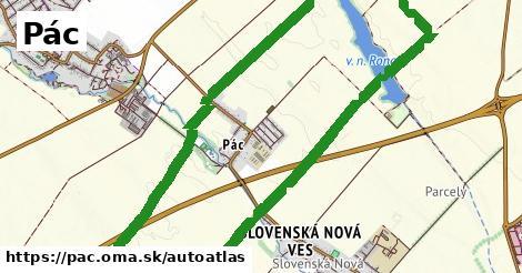 ikona Mapa autoatlas  pac