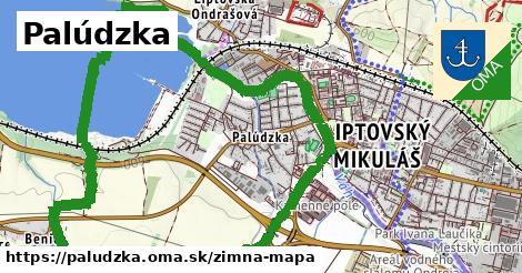 ikona Palúdzka: 0m trás zimna-mapa  paludzka