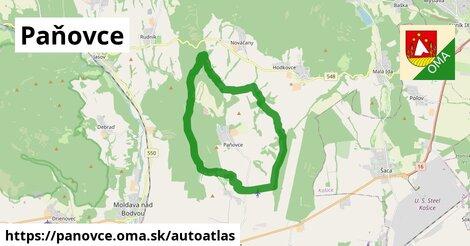 ikona Mapa autoatlas  panovce