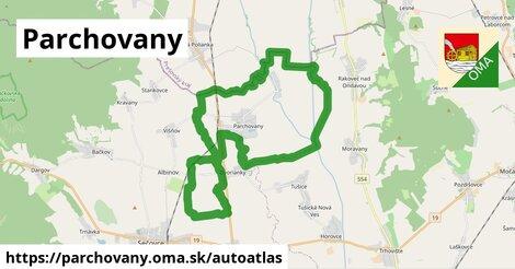 ikona Mapa autoatlas  parchovany