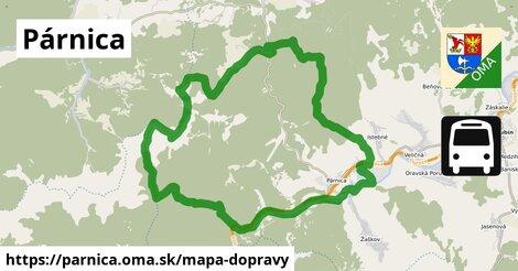 ikona Párnica: 22km trás mapa-dopravy  parnica