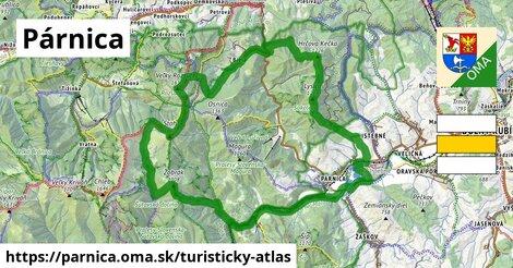 ikona Turistická mapa turisticky-atlas  parnica