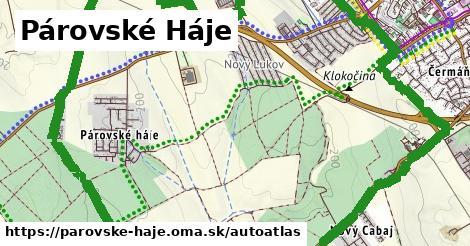 ikona Mapa autoatlas  parovske-haje