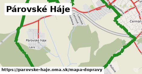 ikona Mapa dopravy mapa-dopravy v parovske-haje