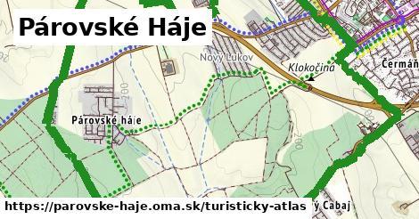 ikona Turistická mapa turisticky-atlas v parovske-haje