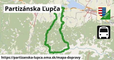 ikona Mapa dopravy mapa-dopravy  partizanska-lupca