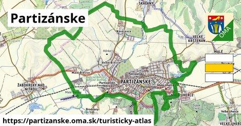ikona Turistická mapa turisticky-atlas  partizanske