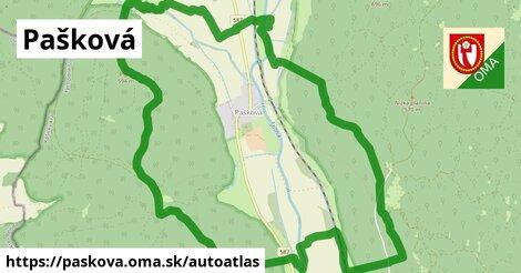 ikona Mapa autoatlas  paskova
