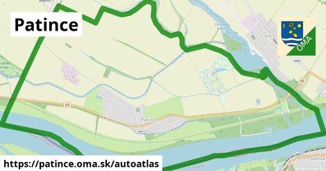 ikona Mapa autoatlas  patince