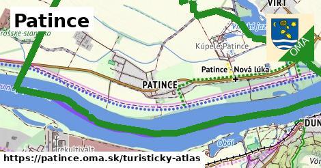 ikona Turistická mapa turisticky-atlas  patince