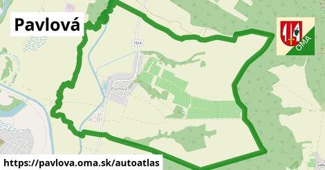ikona Mapa autoatlas  pavlova