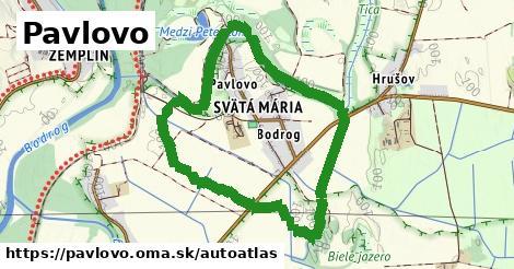 ikona Mapa autoatlas  pavlovo