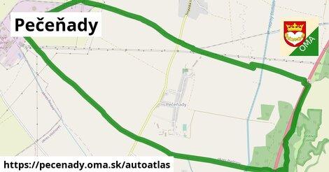 ikona Mapa autoatlas  pecenady
