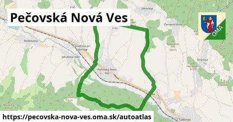 ikona Mapa autoatlas  pecovska-nova-ves