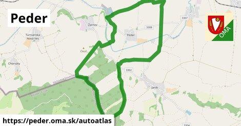 ikona Mapa autoatlas  peder