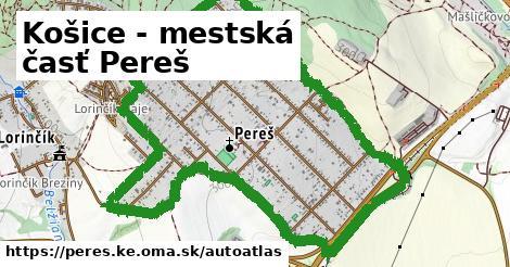ikona Mapa autoatlas  peres.ke