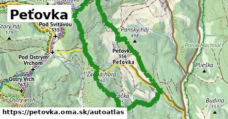 ikona Mapa autoatlas  petovka