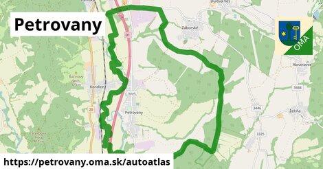 ikona Mapa autoatlas  petrovany