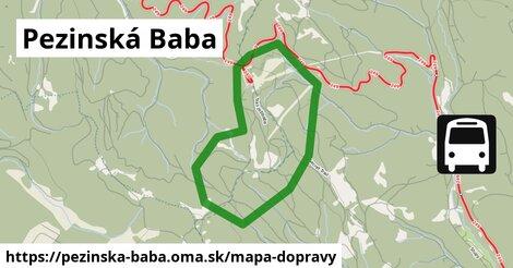 ikona Mapa dopravy mapa-dopravy  pezinska-baba