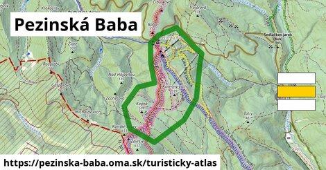 ikona Turistická mapa turisticky-atlas  pezinska-baba