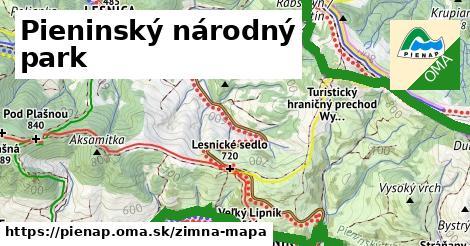 ikona Zimná mapa zimna-mapa  pienap