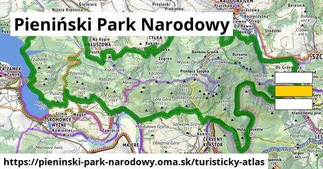 ikona Turistická mapa turisticky-atlas  pieninski-park-narodowy