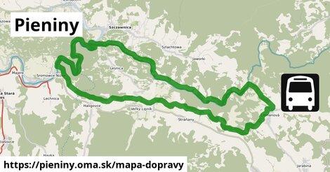 ikona Mapa dopravy mapa-dopravy  pieniny