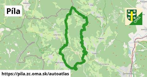 ikona Mapa autoatlas  pila.zc