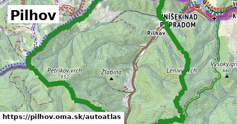 ikona Mapa autoatlas  pilhov
